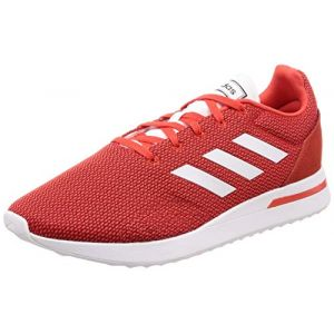 Adidas RUN70S - ROUGE - homme - CHAUSSURES BASSES