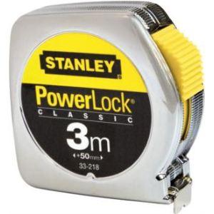 Stanley 1-33-218 Mesure 3 m x 12,7 mm en métal Powerlock Classic