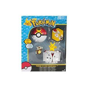 Tomy Coffret Pokémon Pokeball Pikachu