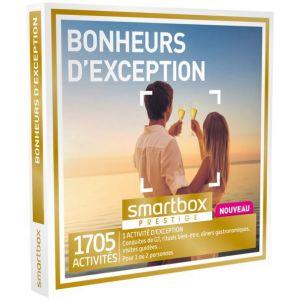 Smartbox Bonheurs d'exception - Coffret cadeau