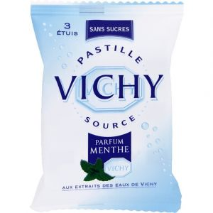 Vichy Pastilles à la menthe sans sucres, avec édulcorants