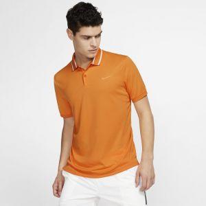Nike Polo de tennis Court Dri-FIT pour Homme - Or - Taille L - Homme