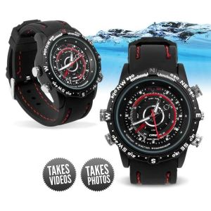 Yonis Y-mcw4go - Montre camera espion mini appareil photo waterproof 4 Go