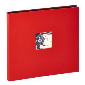 Panodia Album photos traditionnel Studio - 300 vues - 60 pages - Rouge