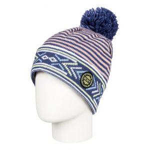 Roxy Joya Vale - Bonnet avec pompon pour Femme - Bleu 58dcc3ec796