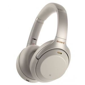 Sony WH-1000XM3 Argent - Casque Hi-res Bluetooth à réduction de bruit