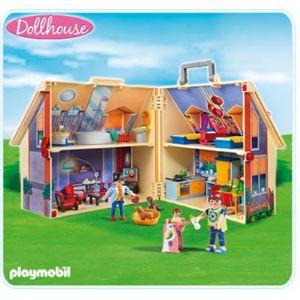 Image de Playmobil 5167 - Maison transportable