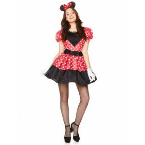 Déguisement Miss Mouse Femme XS