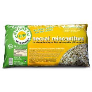 Secret vert Paillis de miscanthus 5kg