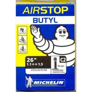 Michelin Chambre à Air Airstop Butyl 26x1.10/1.50 Schrader