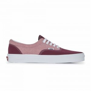 Vans Chaussures En Chambray Era ((chambray) Canvas Port Royale/true White) Homme Rouge, Taille 44