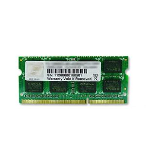 Image de G.Skill F3-1600C11S-8GSQ - Barrette mémoire Standard 8 Go DDR3 1600 MHz CL11 SoDimm 204 broches