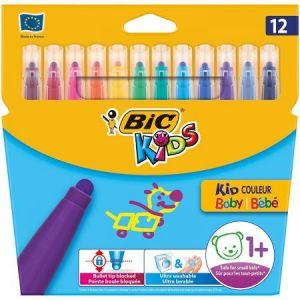 Bic Kid Couleur Baby 12 feutres de coloriage