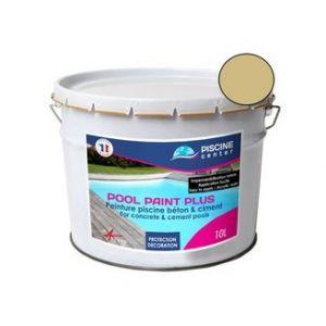 Piscine center o'clair Peinture piscine pool paint plus sable 10 l