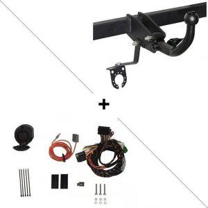 Brink Attelage Opel Karl pour porte-vélos + faisceau spécifique 13 broches (01/15-) RDSOH