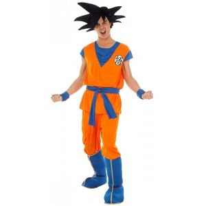 Ruedelafete Déguisement Goku Saiyan™ Dragon Ball Z™ - Adulte - Homme - Taille XL