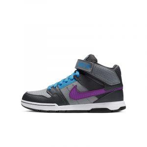 Nike Chaussure SB Mogan Mid 2 JR pour enfant - Gris - Taille 35.5 - Unisex