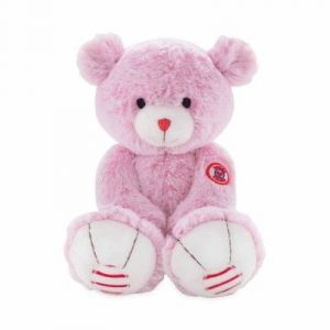Kaloo Peluche Ours couleur rose (Medium)