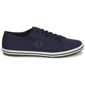Fred Perry Baskets basses KINGSTON TWILL bleu - Taille 40,41,42,43,44,45