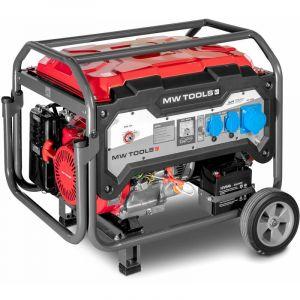 Mw-tools Groupe électrogène essence 7,5 kW 230 V - démarrage électrique BG75E