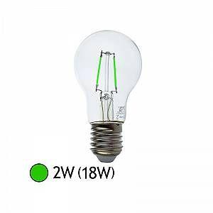 Vision-El Ampoule LED FIL COB BULB E27 2W VERT