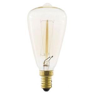 Wellindal Ampoule EDISON Vintage 7-CLEAR ST38 E14 40W