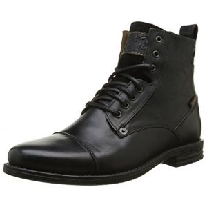 Levi's Boots EMERSON LACE UP Noir - Taille 40,41,42,43,44,45,46