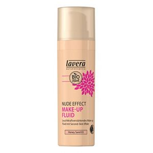 Lavera Nude Effect make up fluid Honey sand 03