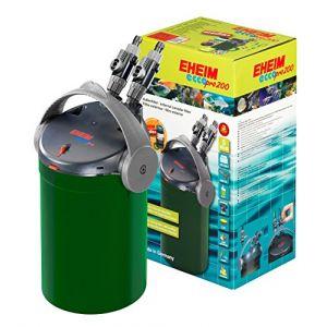 Eheim Filtre externe Ecco Pro basse consommation pour aquarium Modèle 200 600 litres/heures