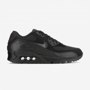 new style 4aded 345fc Comparer chez 7 marchands. Nike Baskets Running Air Max 90 Noire Homme