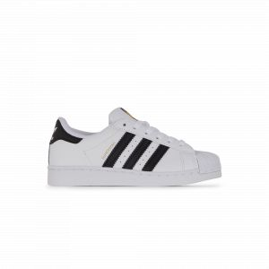 Adidas Superstar C, Basket Mixte Enfant, FTWR White/Core Black/FTWR White, 33 EU