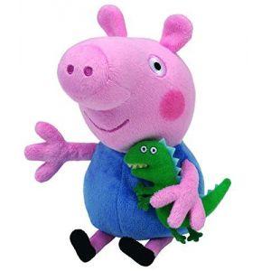 Ty Peluche Beanies Peppa Pig George (20 cm)
