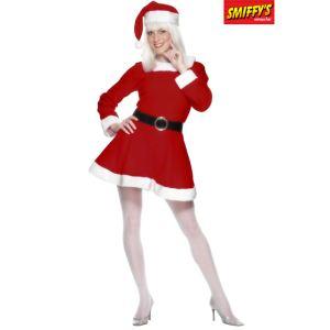 Smiffy's Déguisement Miss Santa (taille M)