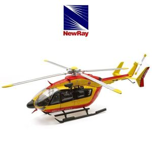 New Ray 25973 - Hélicopter Eurocopter Ec145 Sécurité Civile - Echelle 1:43