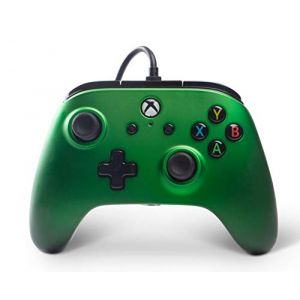 PowerA Manette filaire Xbox One Enhanced - Emerald Fade