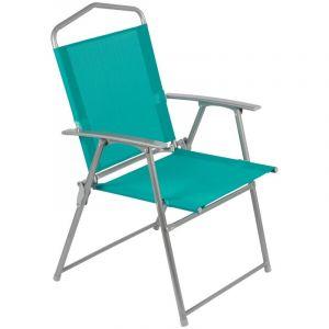 Outiror Chaise camping 56x92cm bleue