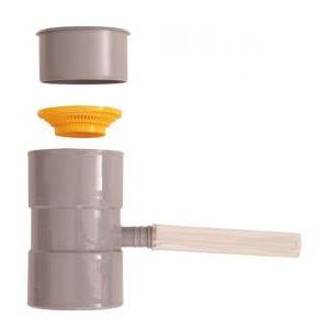 Boutté 0177288 - Collecteur de gouttière gris
