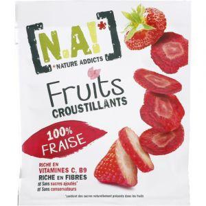 N.a! Fruits croustillants 100% fraise