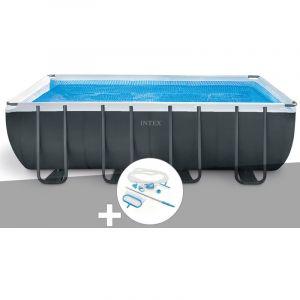 Intex Kit piscine tubulaire Ultra XTR Frame rectangulaire 5,49 x 2,74 x 1,32 m + Kit d'entretien