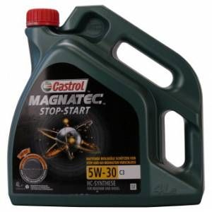 Castrol Magnatec Arrêt-Démarrage 5W-30 C3 4 Litres Jerrycans