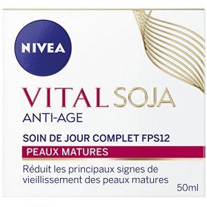 Nivea Vital Soja - Soin de jour complet anti-âge FPS12 pour peaux matures