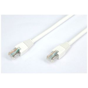 Temium Cable video Sinox RJ45 CAT6 Droit 2m Blanc
