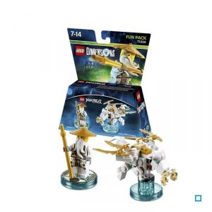 Warner Lego Dimensions Ninjago Sensei Wu