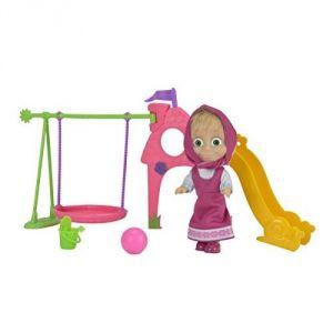 Simba Toys Masha et Michka l'aire de jeux