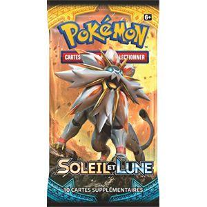 Asmodée Booster - Pokémon Soleil & Lune 01