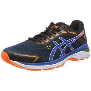 Asics Gt-2000 7, Chaussures de Running Homme, Noir (Black/Lake Drive 001), 46 EU