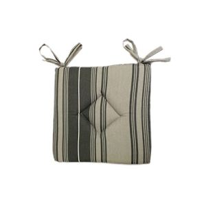 Soleil d'Ocre Galette de chaise Kent en coton recyclé (40 x 40 cm)