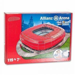 Megableu Stade de foot Allianz Arena (Bayern de Munich) - Puzzle 3D 119 pièces
