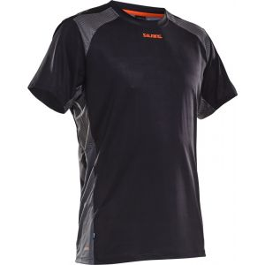 Salming Challenge Shirt Short Sleeve - Black - L
