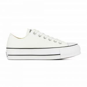 Converse Chuck Taylor CTAS Lift Ox Canvas, Chaussures de Fitness Femme, Blanc